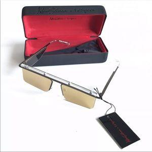 Adam Selman Le Specs Sunglasses The Flex Gold